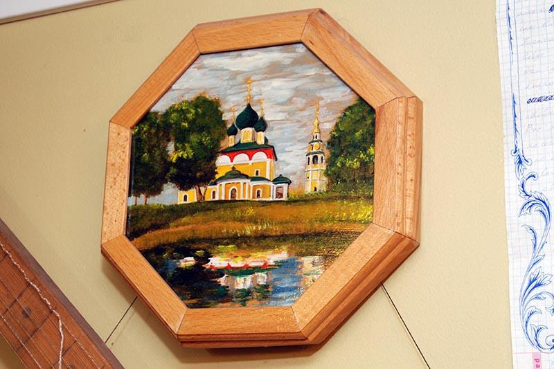 Картина Угличский кремль