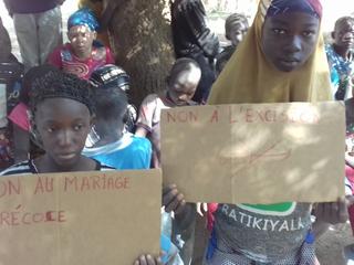'Nee tegen meisjesbesnijdenis'