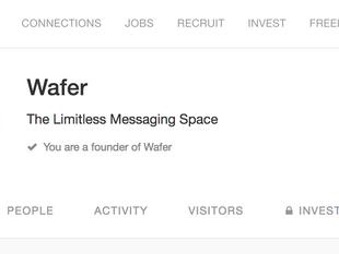 Wafer Messenger on AngelList