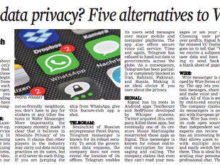 "Wafer featured on ""The Asian Age"""