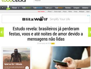 Wafer featured on Tudo Celular