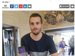Wafer featured in Krant van West-Vlaanderen