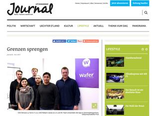 Wafer featured on Lëtzebuerger Journal