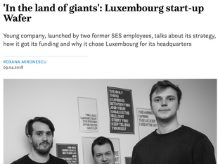 "Wafer featured on ""Luxembourg Times"""