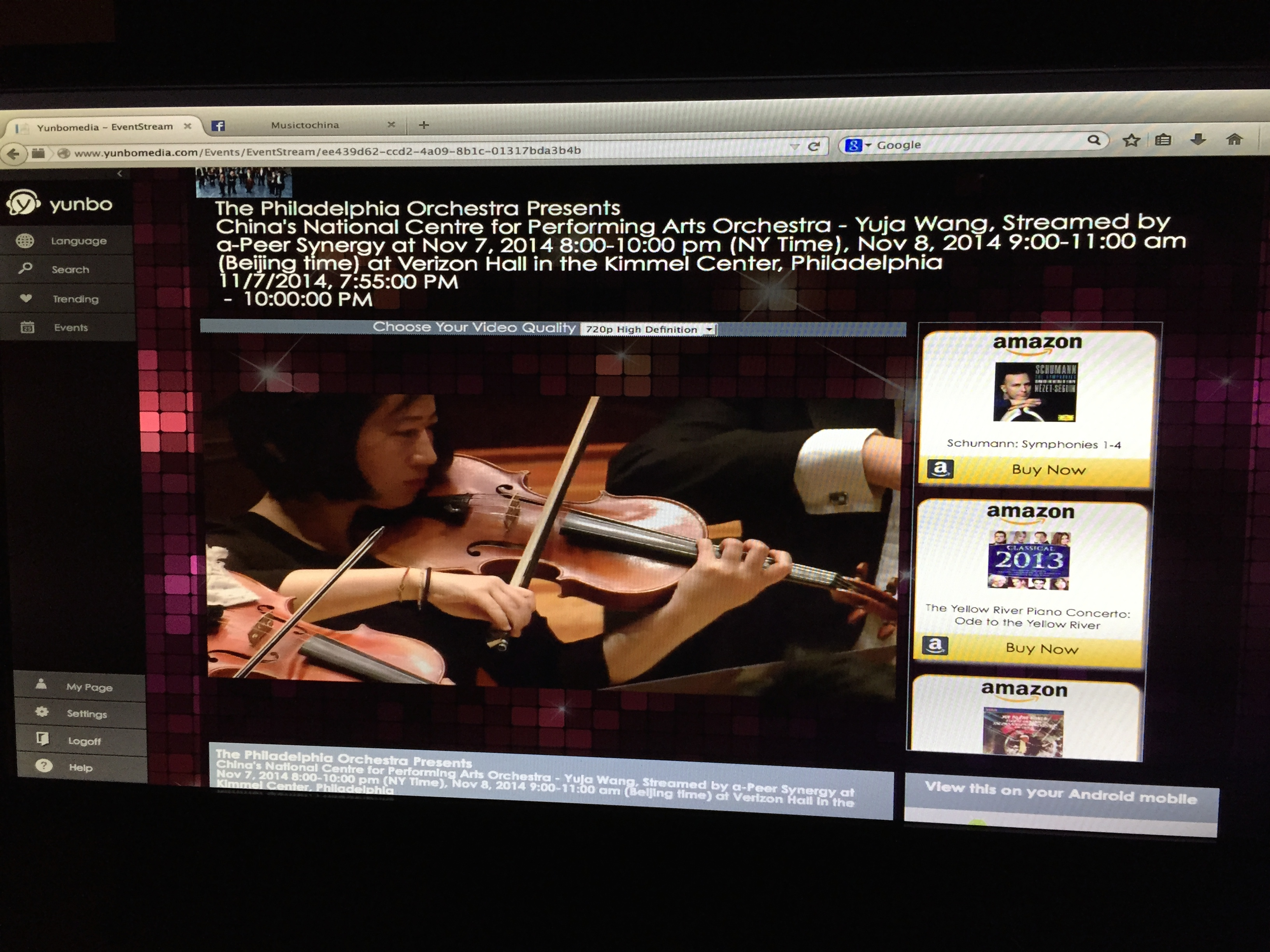 The Chinese National Orchestra 2015