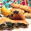 Famous Spinach pies (Sbanekh Fatayer)