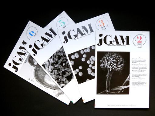 応用微生物学会 論文誌『JGAM』