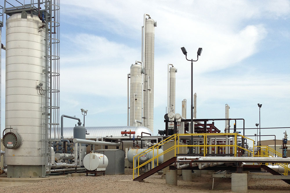 Watford City Gas Plant