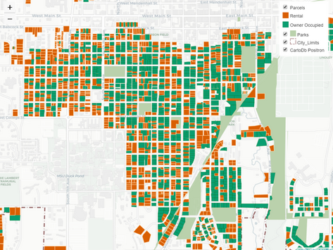 Where Renters Live - And Don't Live