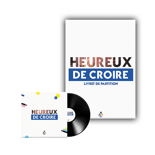 Holi | Pack album « Heureux de croire » et partitions (PDF)