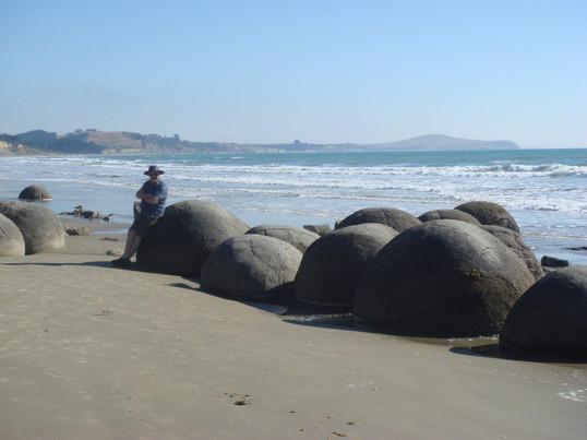 The Left Turn Syndrome Moeraki Boulders