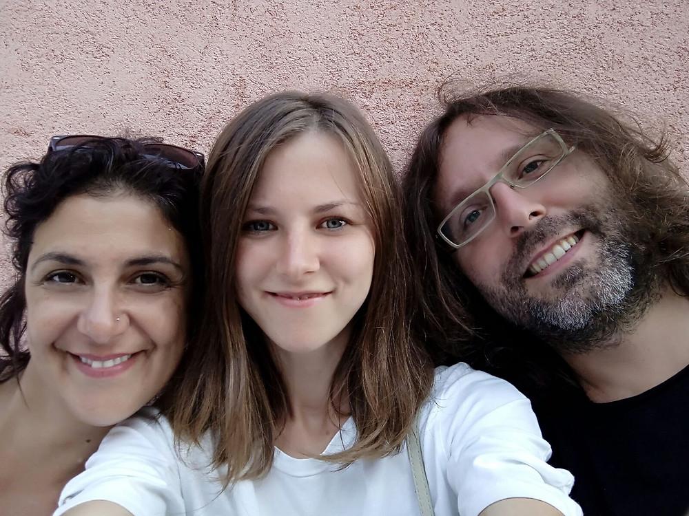 Me, Paulina and Manolo