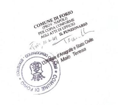 It's Official. Sono italiana!