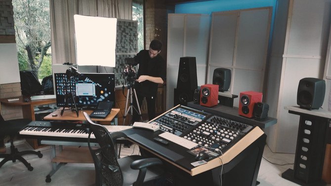 Tommy's New Studio