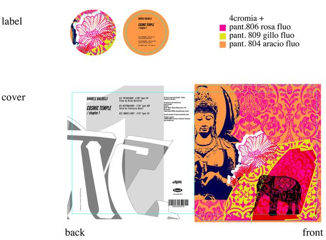 "Daniele Baldelli ""COSMIC TEMPLE"" Chapter 1 Vinyl Release"