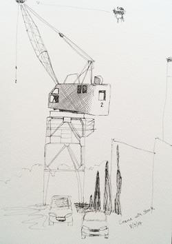 annie audsley urban sketching stork