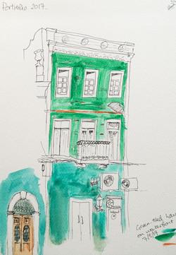 annie audsley green urban sketching