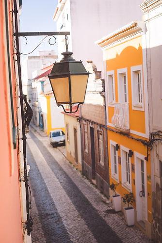 portuguese street in Portimao
