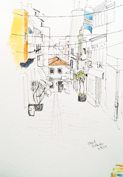 annie audsley urban sketching portugal