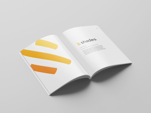 Shades style guide: intro page