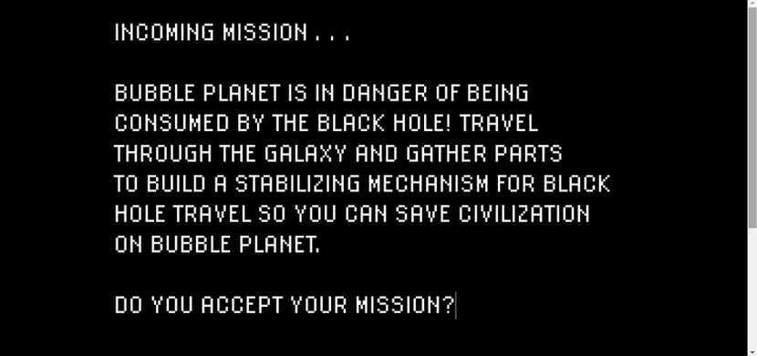 Incoming Mission...