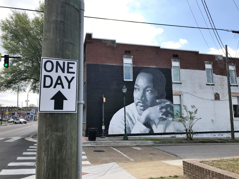 """One day from MLK's famous """"I Have A Dream"""" speech"""