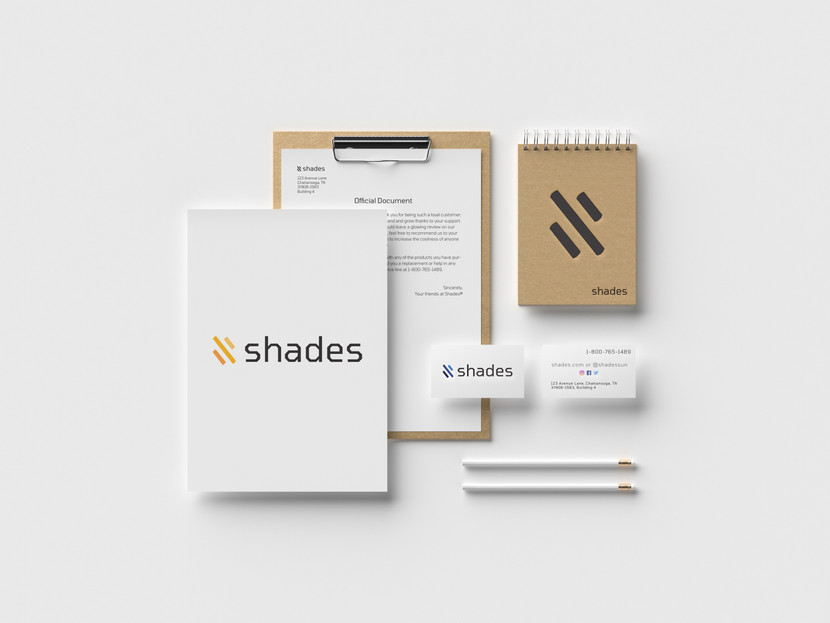 Official documentation for the Shades logo