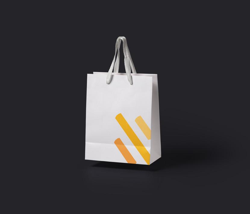 Shades shopping bag.
