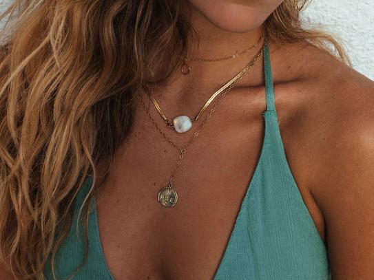 Atlas Necklace, Four Winds Necklace