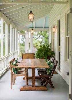 Porch of Village Home