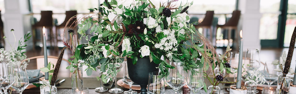Charleston SC corporate event table setting