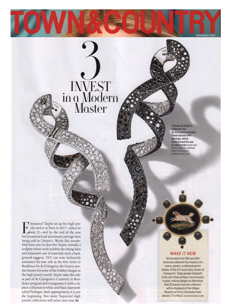 deGrisogono feature in Town & Country