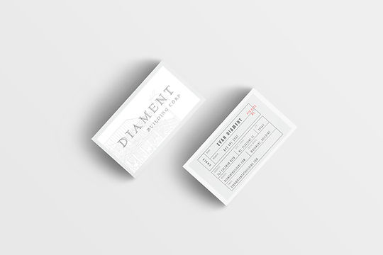 business card design in Charleston SC