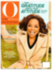 Cover of Oprah Magazine Media Relations PR