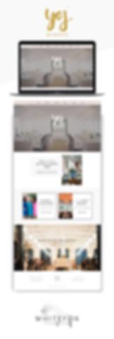 Website design Yoj Event Planning in Charleston