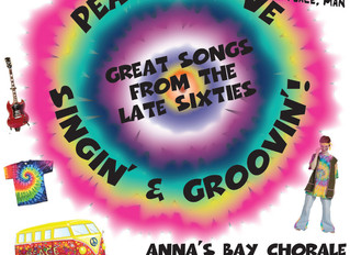Peace, Love, Singin' & Groovin' - Anna's Bay performs sixties music Sept 10, 2016