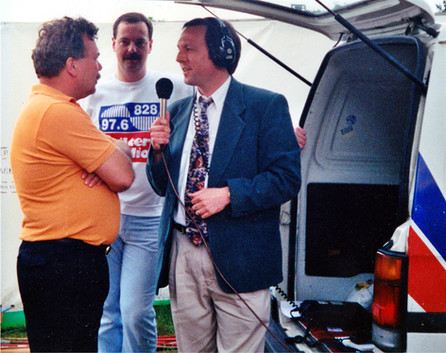 Tony Lloyd Interviewing