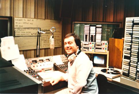 Tony at Chiltern Radio Dunstable Studio