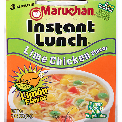 Lime Chicken Instant Lunch