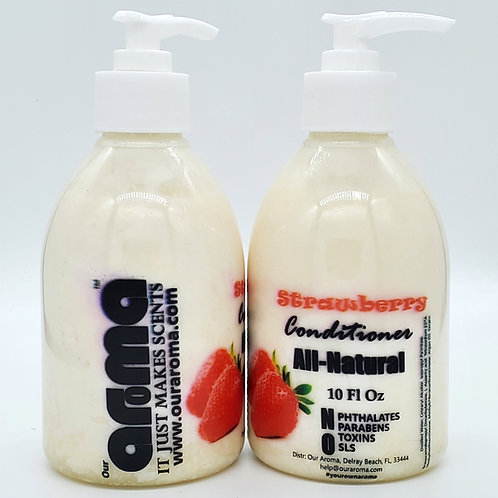 Our Aroma Strawberry Ltd Edition Hair Conditioner 10Oz