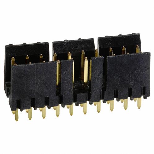 Connector Header Vertical 20 Position 2.54MM