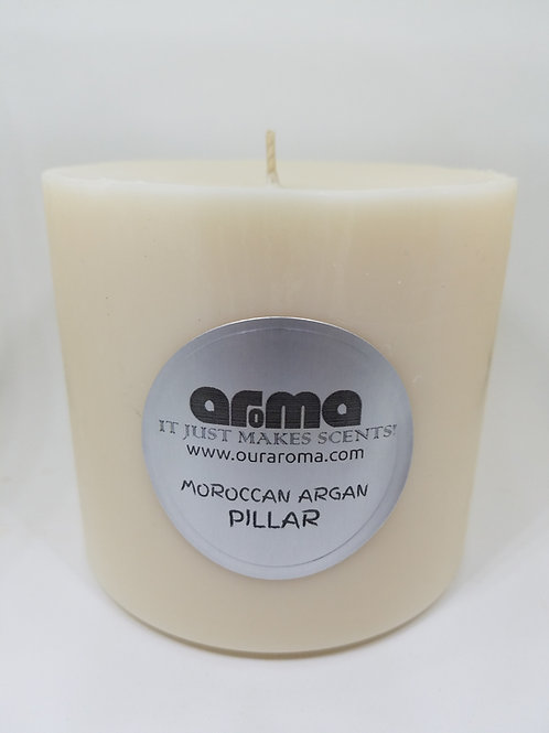 "Moroccan Argan 4"" Pillar Candle"