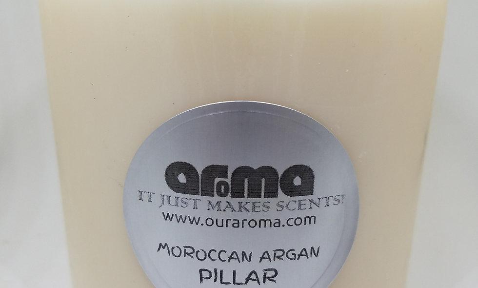 "Moroccan Argan 4"" Pillar Candle"