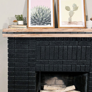 Rustic Mantels and Floating Shelves - Easy DIY Project