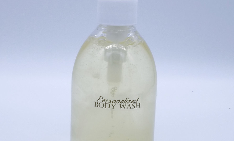Men's Personalized Body Wash by Aroma - 10Oz