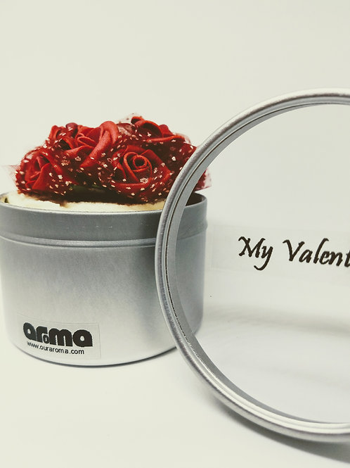 Valentine Women's Red Rose Body Cream