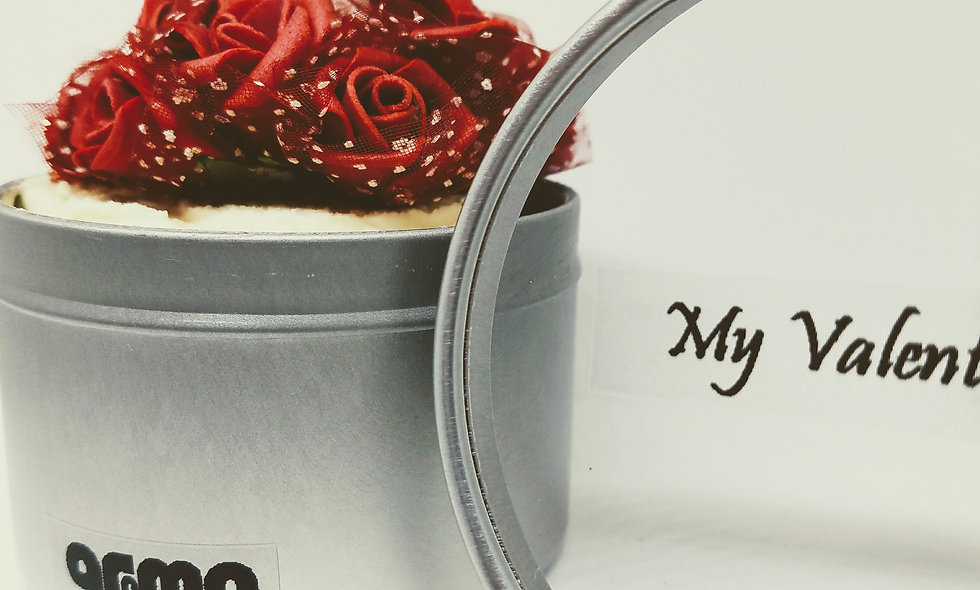 Valentine Women's Red Rose Body Cream