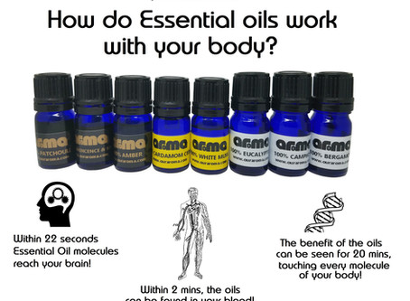 Essential Oils used in Aroma Products