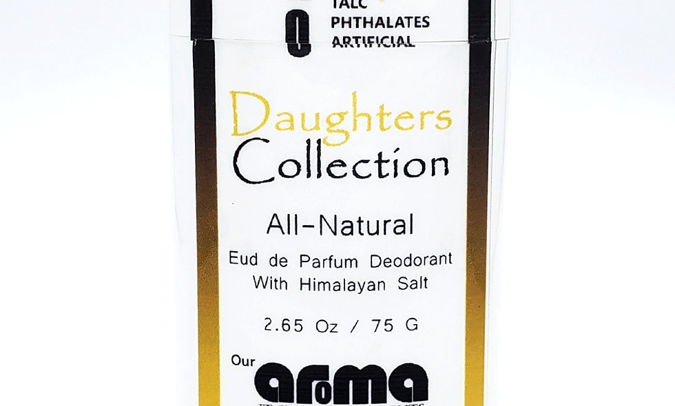 Aroma Daughters Collection  2.65 Oz All-Natural Deodorant