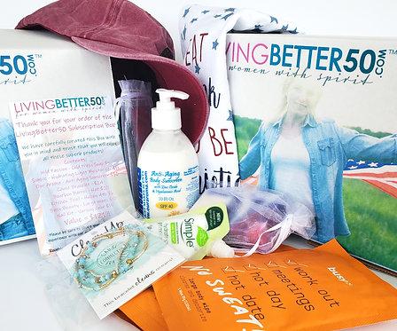 LivingBetter50 Women's 12 Month Subscription Boxes